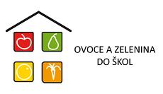 Ovoce a zelenina do škol logo